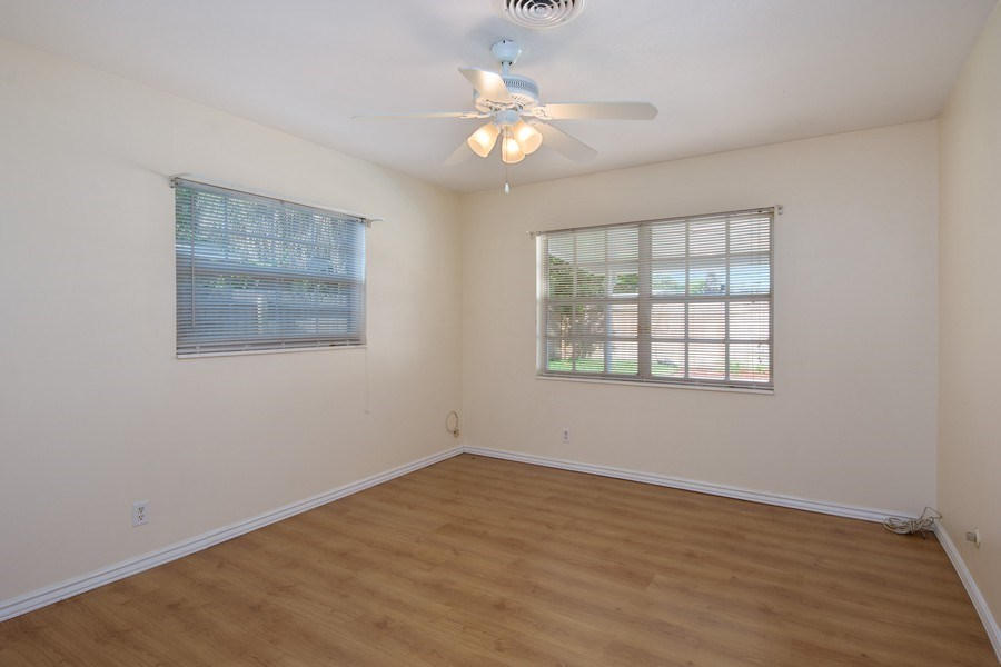 Real Estate Photography - 4146 Indianapolis Street NE, St Petersburg, FL, 33703 - 2 Bedrooms & 1 Bath are on both sides of home!
