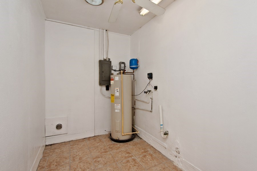 Real Estate Photography - 4146 Indianapolis Street NE, St Petersburg, FL, 33703 - Inside Laundry Room!