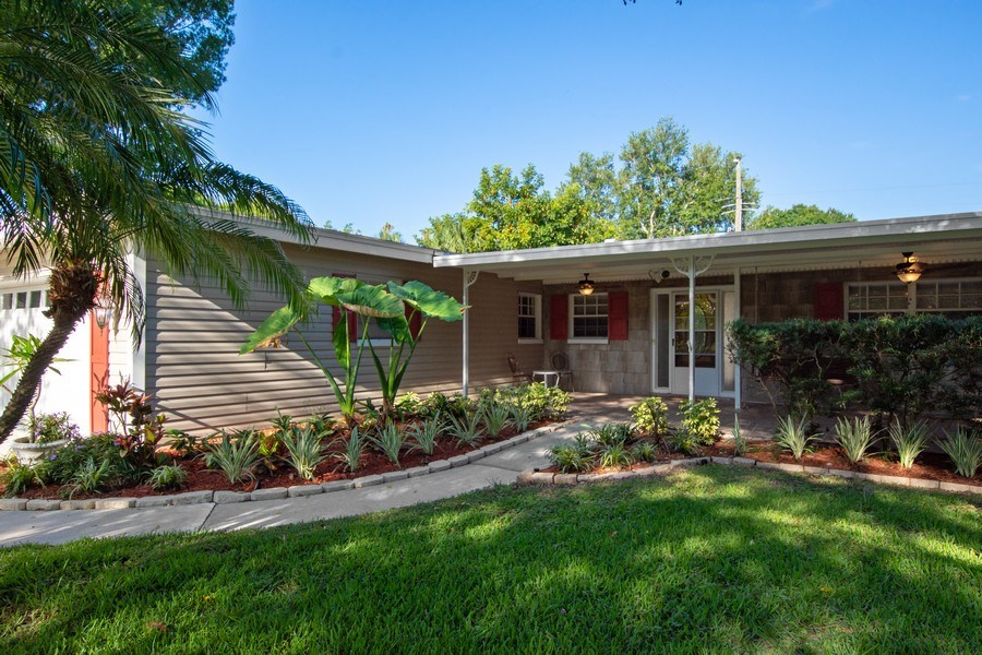 Real Estate Photography - 4146 Indianapolis Street NE, St Petersburg, FL, 33703 - Well Landscaped 75'x120' Lot! GREAT CURB APPEAL!