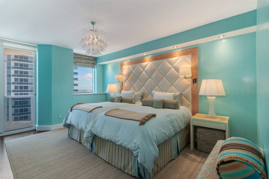 Real Estate Photography - 4779 Collins Ave., Unit 3603, Miami Beach, FL, 33140 - Master Bedroom