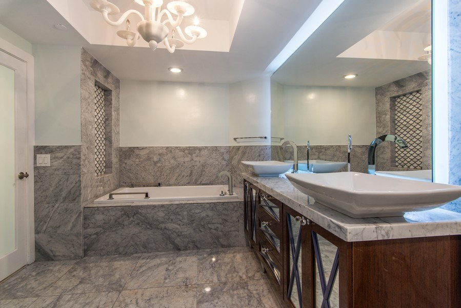 Real Estate Photography - 4779 Collins Ave., Unit 3603, Miami Beach, FL, 33140 - Master Bathroom