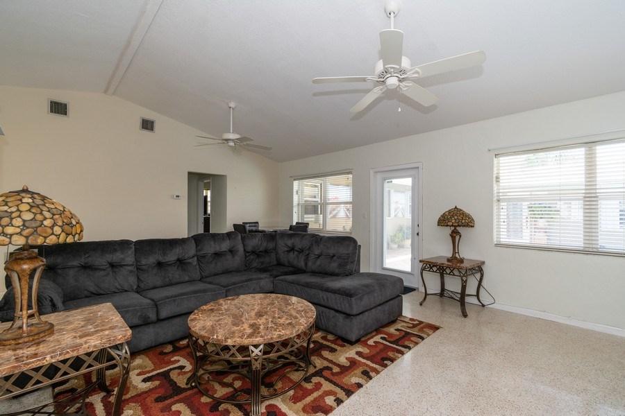 Real Estate Photography - 2648 Middle River Dr, Fort Lauderdale, FL, 33306 - Living Room North Unit
