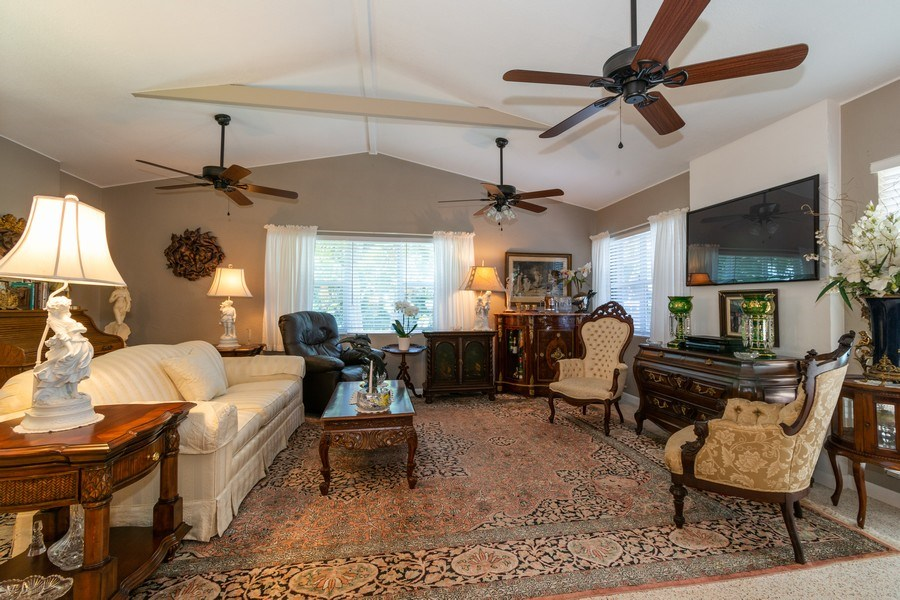 Real Estate Photography - 2648 Middle River Dr, Fort Lauderdale, FL, 33306 - Living Room