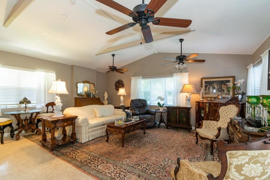 Real Estate Photography - 2648 Middle River Dr, Fort Lauderdale, FL, 33306 - Living Room South Unit