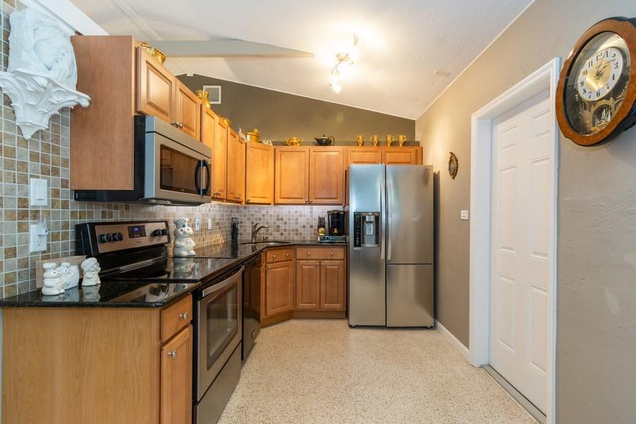 Real Estate Photography - 2648 Middle River Dr, Fort Lauderdale, FL, 33306 - Kitchen South Unit