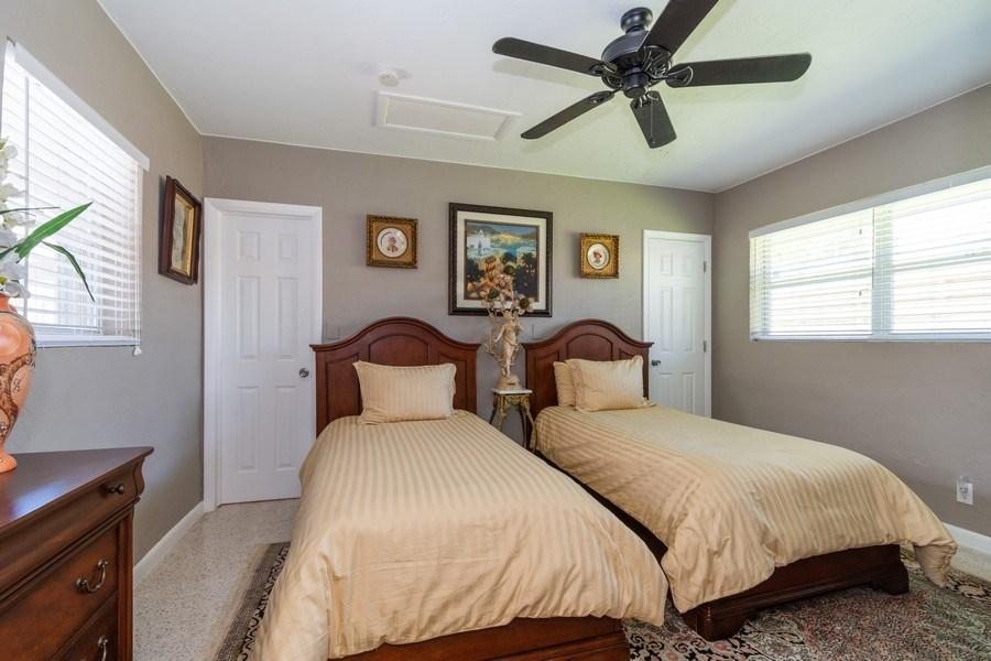 Real Estate Photography - 2648 Middle River Dr, Fort Lauderdale, FL, 33306 - Second Bedroom South Unit