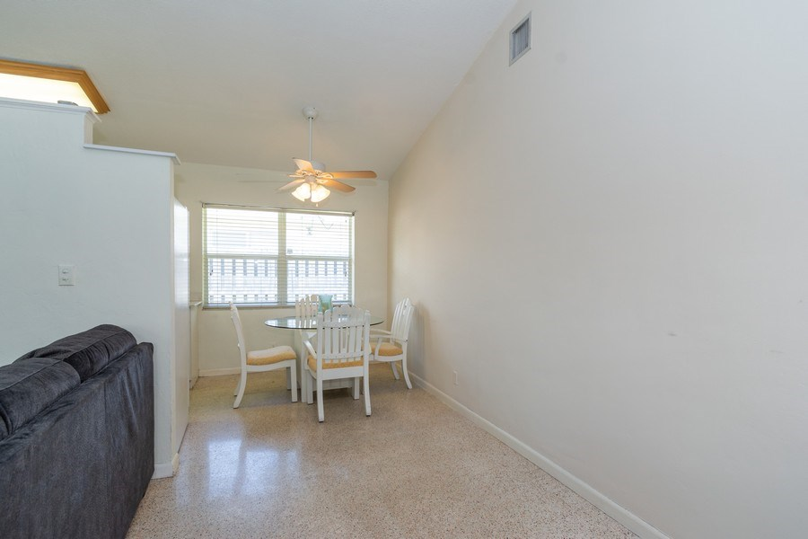 Real Estate Photography - 2648 Middle River Dr, Fort Lauderdale, FL, 33306 - Dining Area North Unit