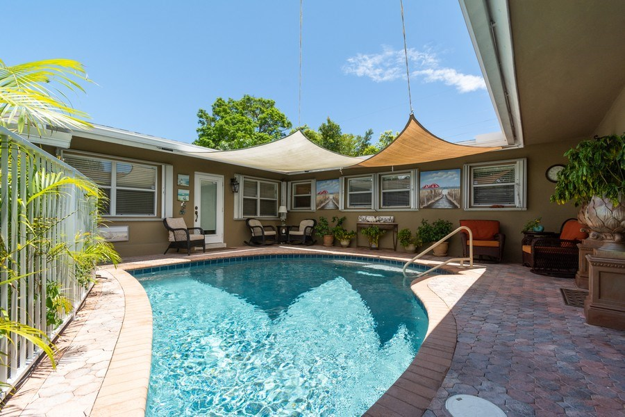 Real Estate Photography - 2648 Middle River Dr, Fort Lauderdale, FL, 33306 - Pool