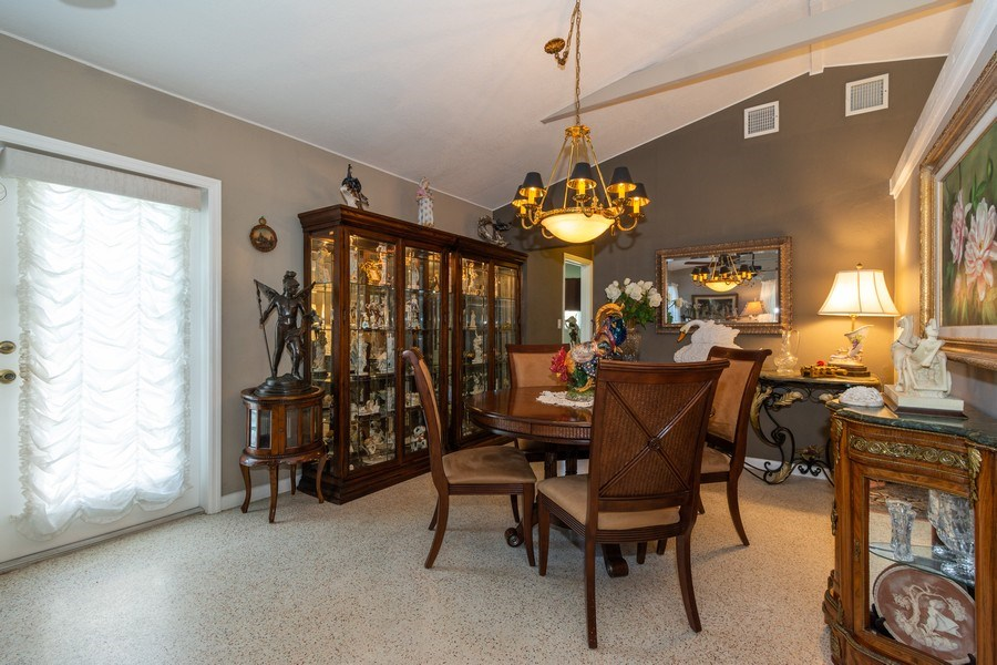 Real Estate Photography - 2648 Middle River Dr, Fort Lauderdale, FL, 33306 - Dining Room South Unit