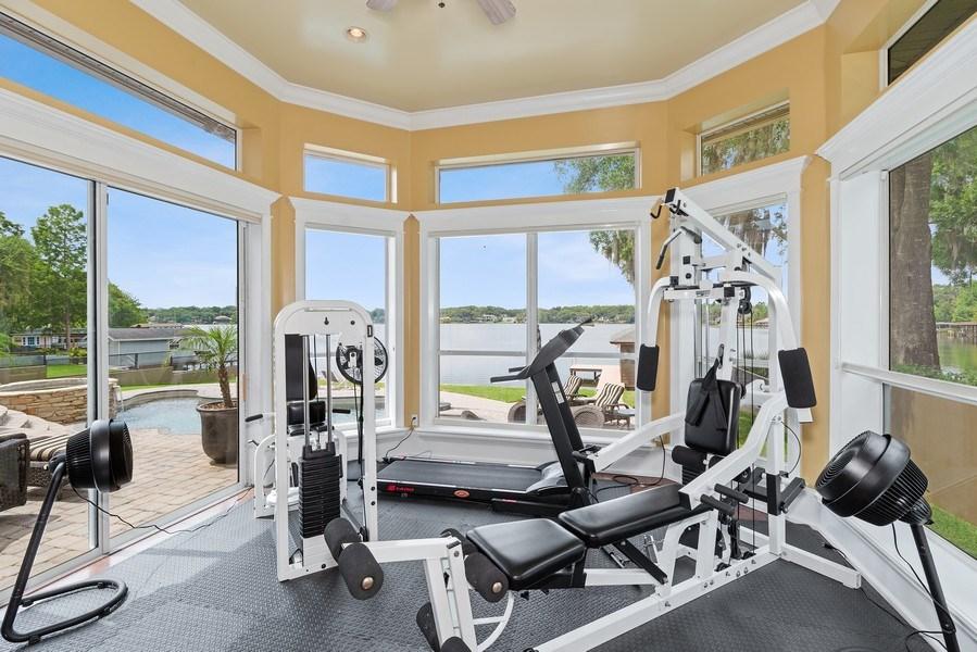 Real Estate Photography - 42 Minnehaha Circle, Maitland, FL, 32751 - Exercise Room