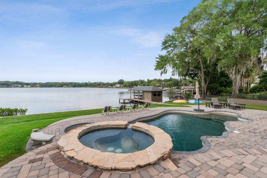 Real Estate Photography - 42 Minnehaha Circle, Maitland, FL, 32751 - Pool