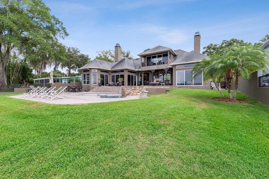 Real Estate Photography - 42 Minnehaha Circle, Maitland, FL, 32751 - Rear View