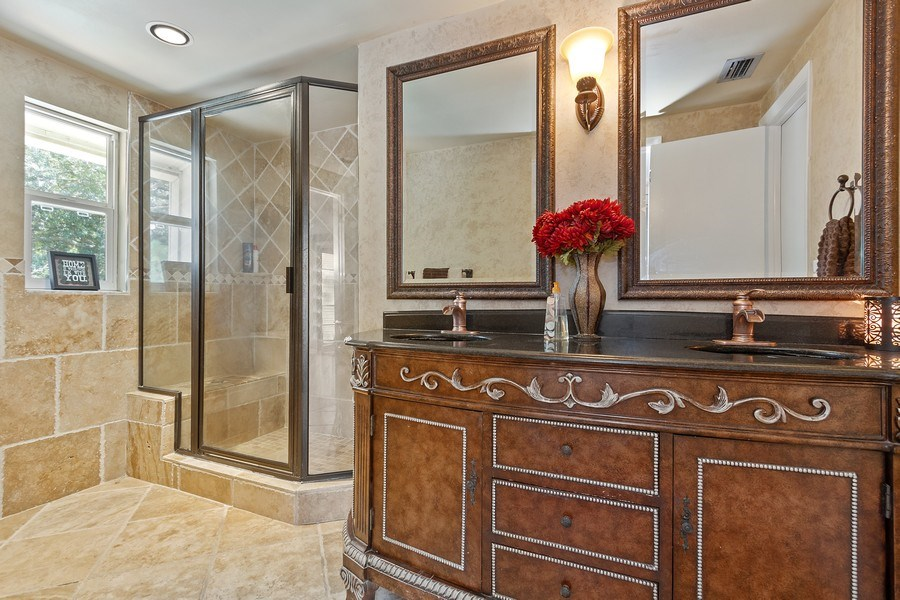 Real Estate Photography - 12703 Rainforest Street, Temple Terrace, FL, 33617 - Master Bathroom