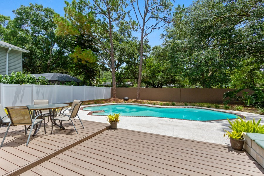 Real Estate Photography - 12703 Rainforest Street, Temple Terrace, FL, 33617 - Pool
