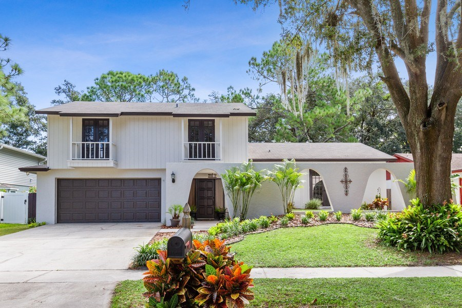 Real Estate Photography - 12703 Rainforest Street, Temple Terrace, FL, 33617 - Front View
