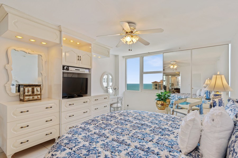 Real Estate Photography - 2030 S Ocean Drive, #2020, Hallandale Beach, FL, 33009 - Master Bedroom