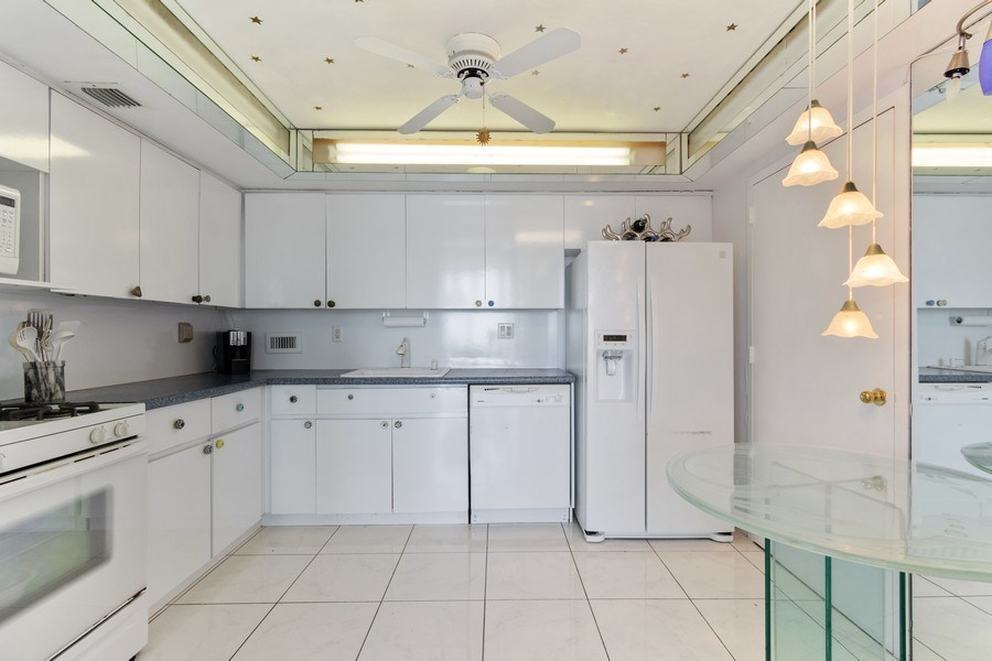 Real Estate Photography - 2030 S Ocean Drive, #2020, Hallandale Beach, FL, 33009 - Kitchen