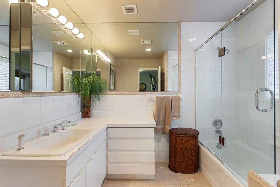Real Estate Photography - 10 Saranac Road, Sea Ranch Lakes, FL, 33308 - 3rd Bathroom