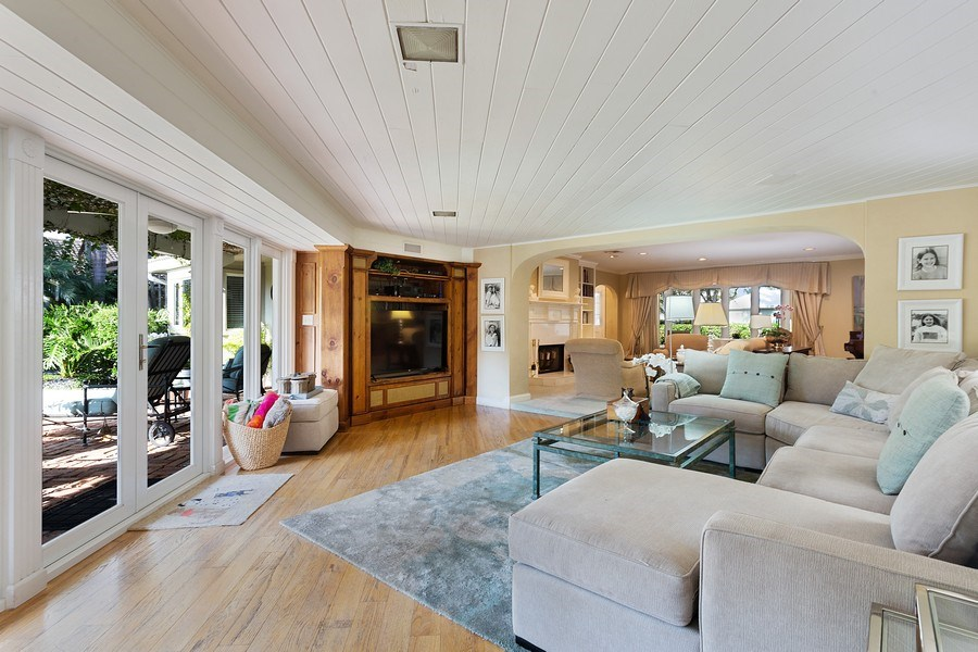 Real Estate Photography - 10 Saranac Road, Sea Ranch Lakes, FL, 33308 - Living Room