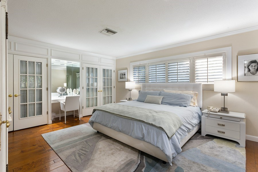 Real Estate Photography - 10 Saranac Road, Sea Ranch Lakes, FL, 33308 - Master Bedroom