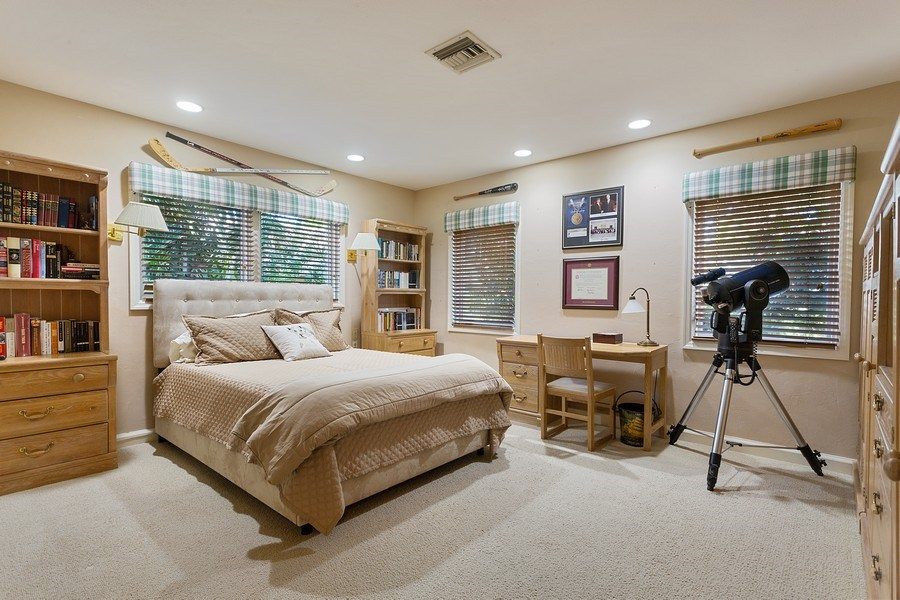 Real Estate Photography - 10 Saranac Road, Sea Ranch Lakes, FL, 33308 - 2nd Bedroom