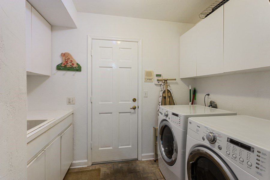 Real Estate Photography - 10 Saranac Road, Sea Ranch Lakes, FL, 33308 - Laundry Room