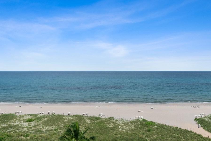 Real Estate Photography - 1500 S Ocean Blvd, S601, Boca Raton, FL, 33432 - Beach