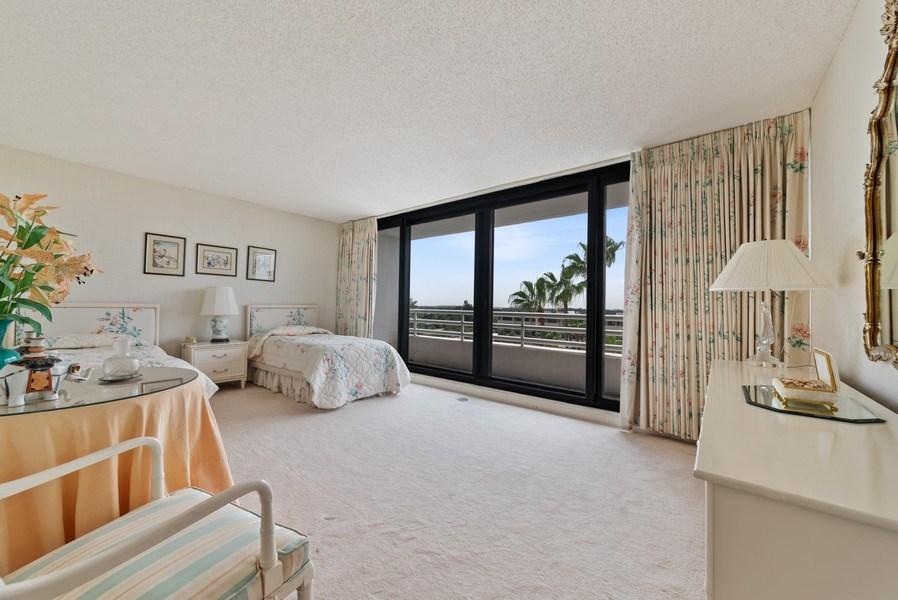 Real Estate Photography - 1500 S Ocean Blvd, S601, Boca Raton, FL, 33432 - Bedroom