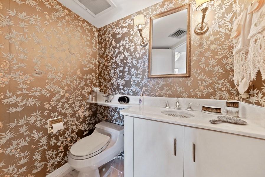 Real Estate Photography - 1500 S Ocean Blvd, S601, Boca Raton, FL, 33432 - Powder Room