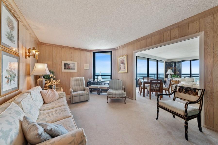 Real Estate Photography - 1500 S Ocean Blvd, S601, Boca Raton, FL, 33432 - Den