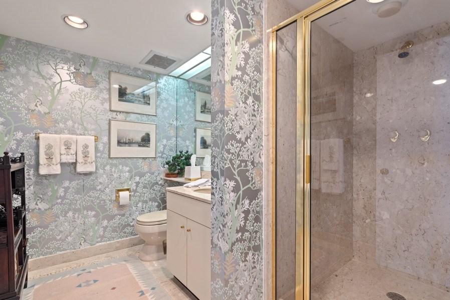Real Estate Photography - 1500 S Ocean Blvd, S601, Boca Raton, FL, 33432 - Bathroom
