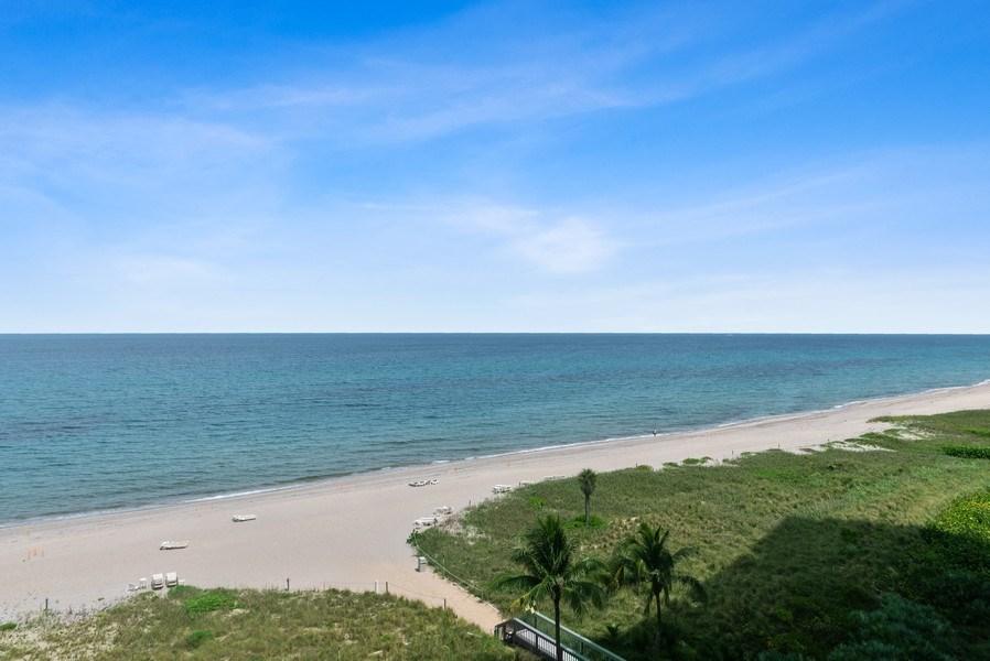 Real Estate Photography - 1500 S Ocean Blvd, S601, Boca Raton, FL, 33432 - Ocean View