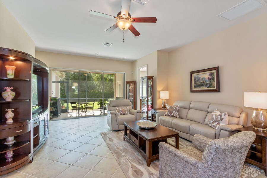 Real Estate Photography - 11261 Suffield St, Fort Myers, FL, 33913 - Living Room