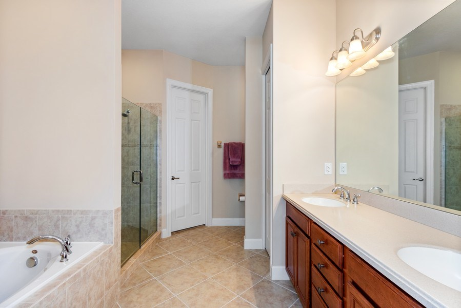 Real Estate Photography - 11261 Suffield St, Fort Myers, FL, 33913 - Master Bathroom