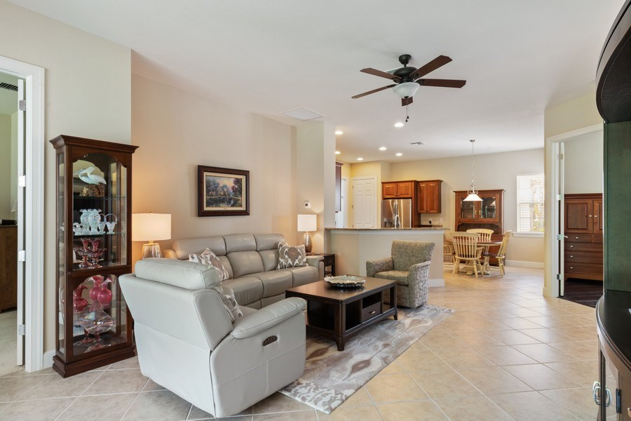 Real Estate Photography - 11261 Suffield St, Fort Myers, FL, 33913 - Family Room