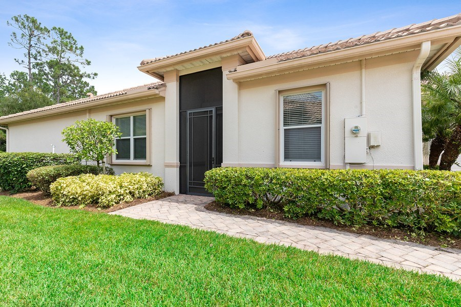 Real Estate Photography - 11261 Suffield St, Fort Myers, FL, 33913 - Entrance