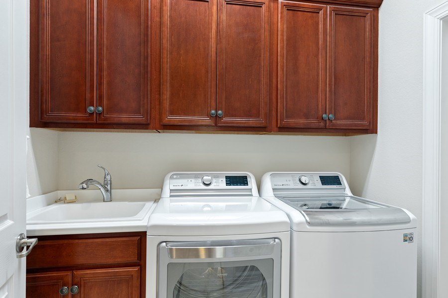 Real Estate Photography - 11261 Suffield St, Fort Myers, FL, 33913 - Laundry Room