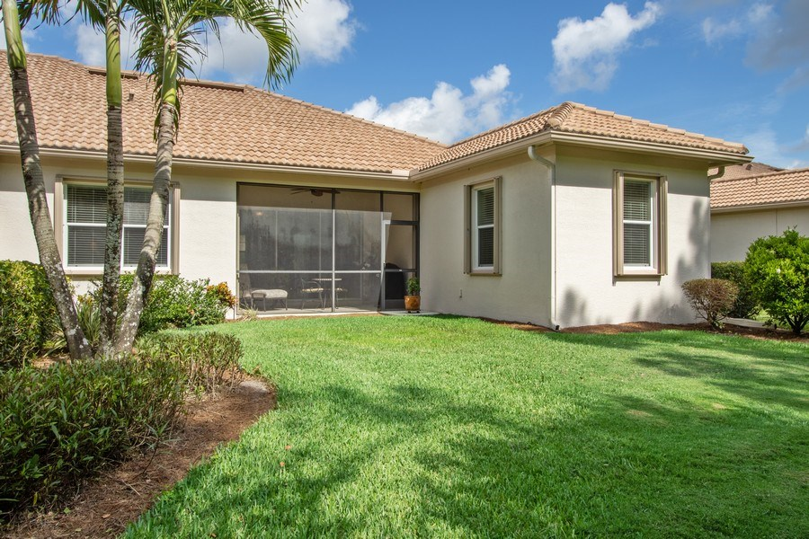 Real Estate Photography - 11261 Suffield St, Fort Myers, FL, 33913 - Rear View