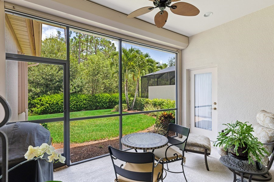 Real Estate Photography - 11261 Suffield St, Fort Myers, FL, 33913 - Lanai