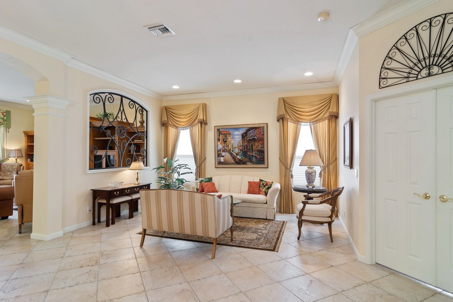 Real Estate Photography - 405 NW Springview Loop, Port St. Lucie, FL, 34986 - Living Room