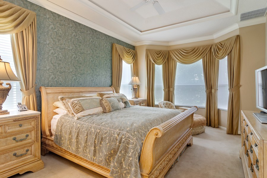 Real Estate Photography - 405 NW Springview Loop, Port St. Lucie, FL, 34986 - Master Bedroom