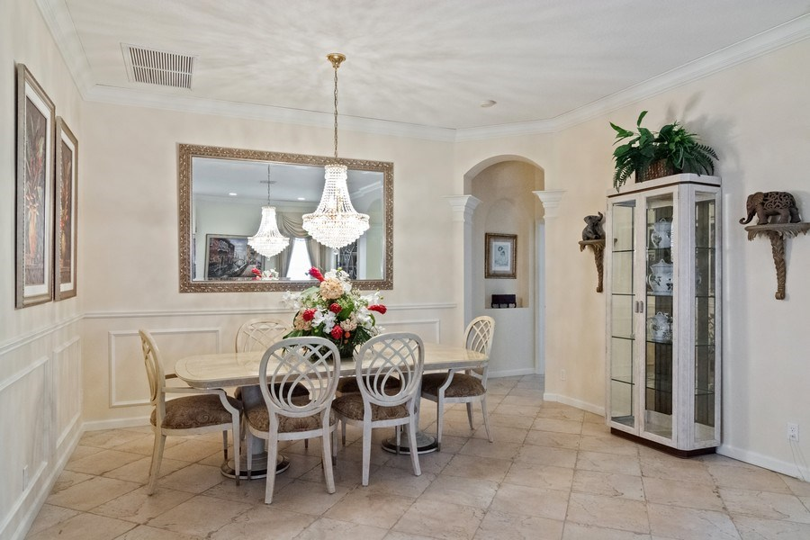 Real Estate Photography - 405 NW Springview Loop, Port St. Lucie, FL, 34986 - Dining Room