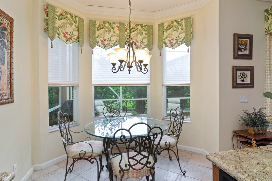 Real Estate Photography - 405 NW Springview Loop, Port St. Lucie, FL, 34986 - Breakfast Nook