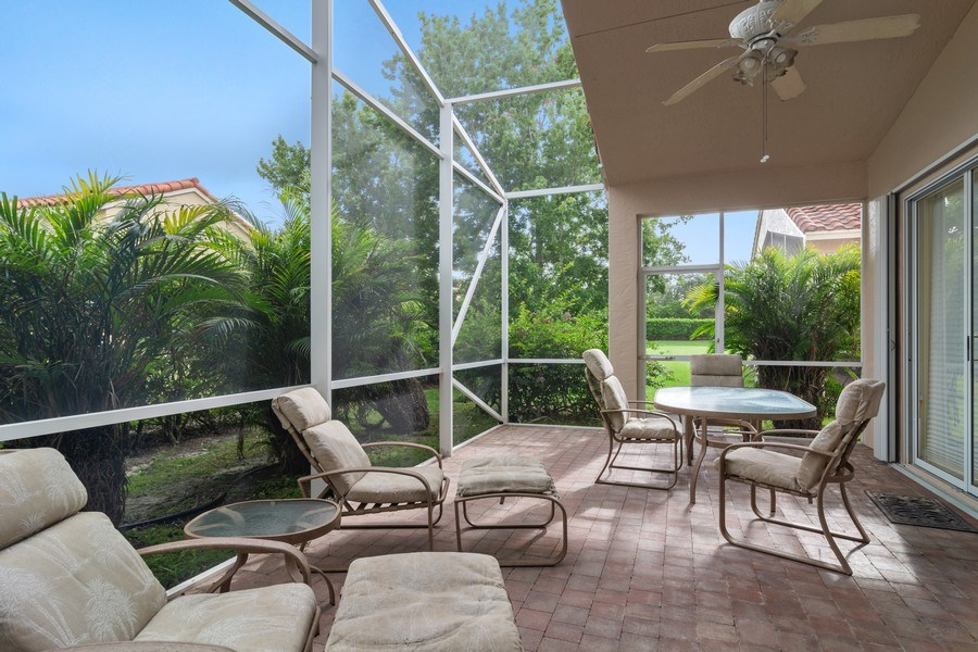Real Estate Photography - 405 NW Springview Loop, Port St. Lucie, FL, 34986 - Patio