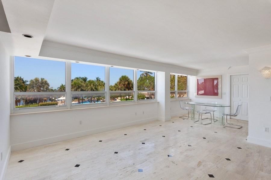 Real Estate Photography - 2 GROVE ISLE DR. #B201-02, MIAMI, FL, 33133 - Living Room
