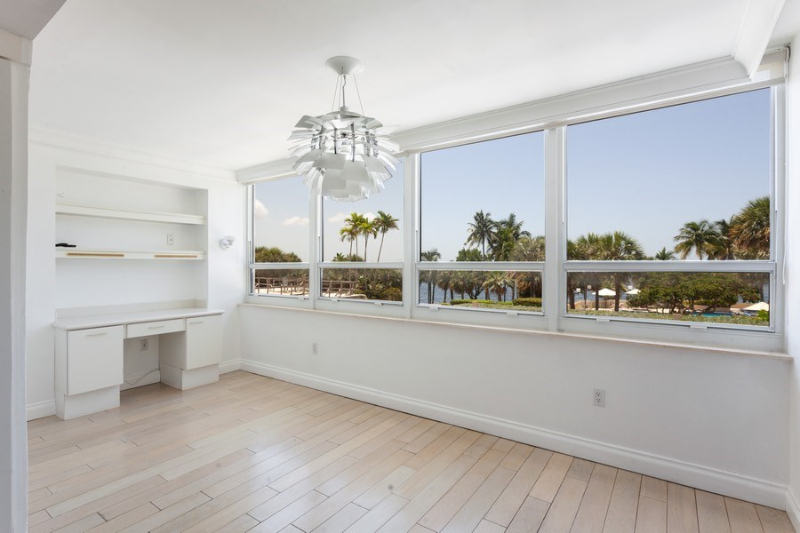 Real Estate Photography - 2 GROVE ISLE DR. #B201-02, MIAMI, FL, 33133 - Dining Area