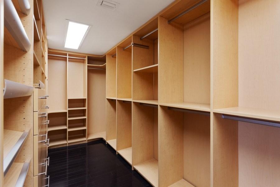 Real Estate Photography - 2 GROVE ISLE DR. #B201-02, MIAMI, FL, 33133 - Master Bedroom Closet