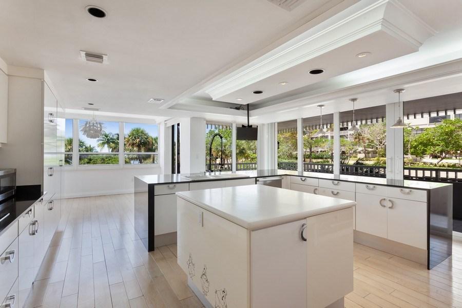 Real Estate Photography - 2 GROVE ISLE DR. #B201-02, MIAMI, FL, 33133 - Kitchen