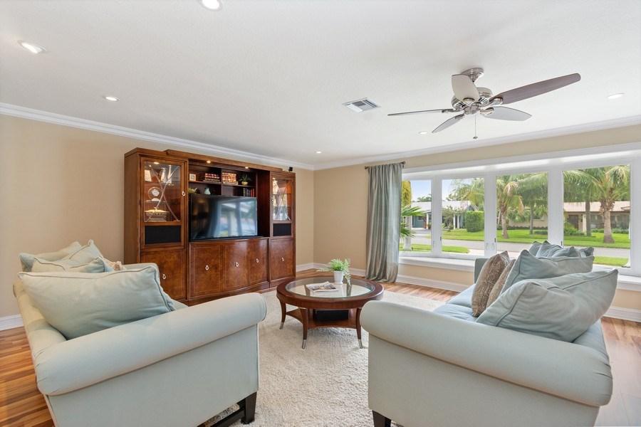 Real Estate Photography - 2113 NE 63rd St, Fort Lauderdale, FL, 33308 - Living Room