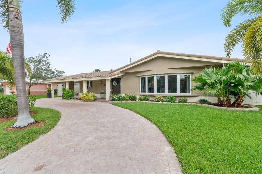 Real Estate Photography - 2113 NE 63rd St, Fort Lauderdale, FL, 33308 - Front View